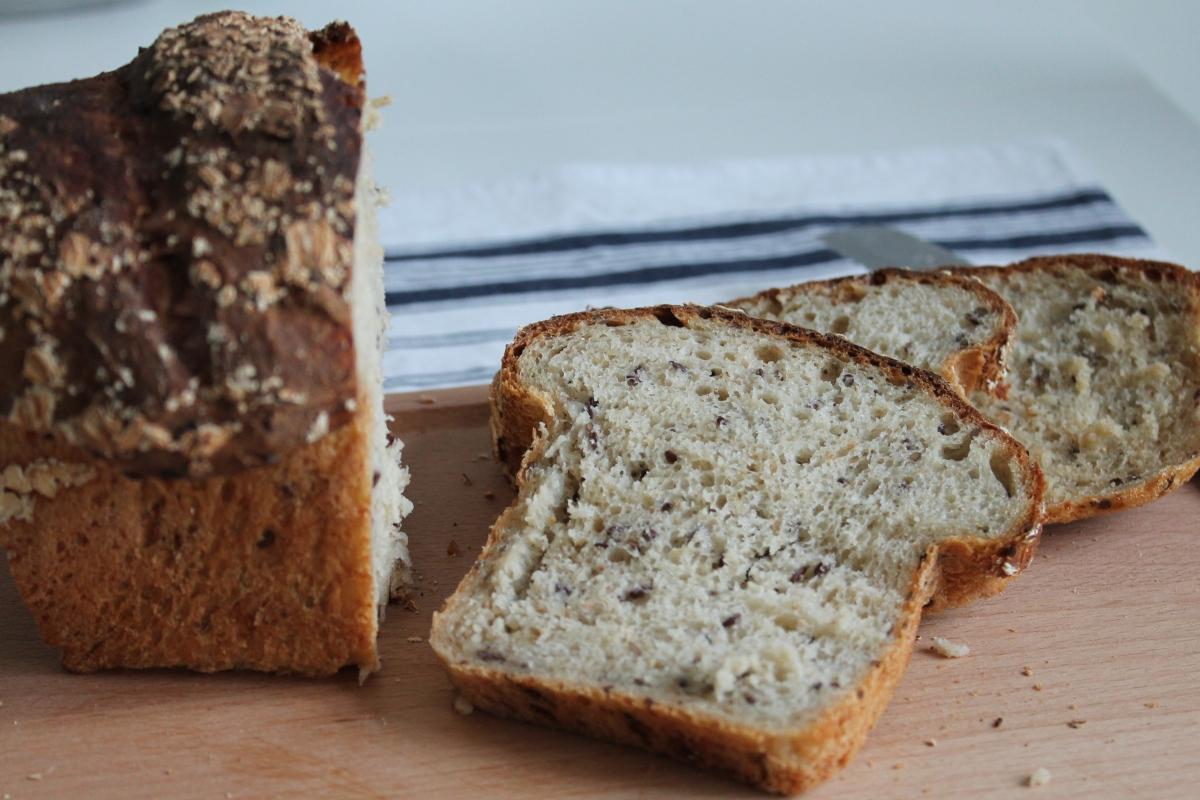 Havrebröd, mjukt och fluffigt