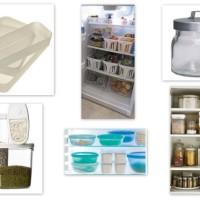 Rent och fräscht - förvara snyggt i köket