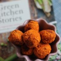 Linsbollar, väldigt orangea och goda