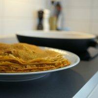 Glutenfria pannkakor med morötter